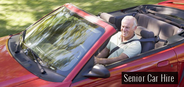 senior car hire