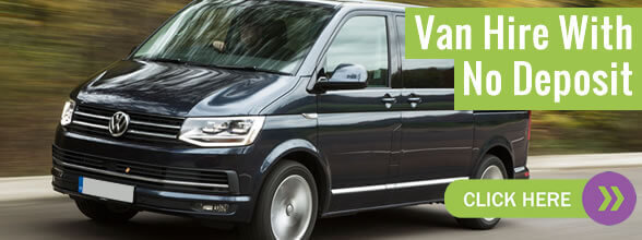 Van hire No Deposit