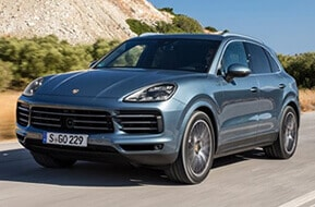 Porsche Cayenne Car hire