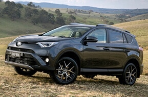 toyota rav4 car hire