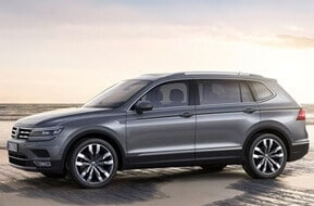 volkswagen tiguan car hire