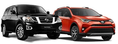SUV Car Hire UAE