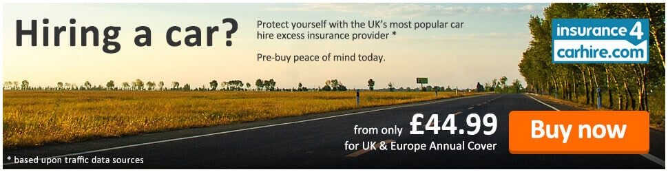 Insurance Excess Protection With Indigo Car Hire Worldwide