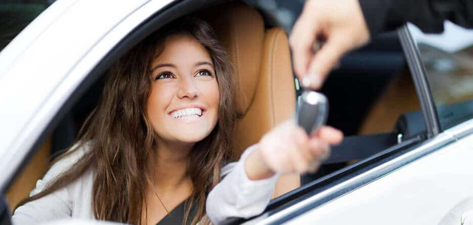 young driver car hire Stansted Airport