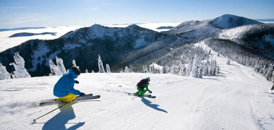 Top 5 Ski Locations In USA & Canada