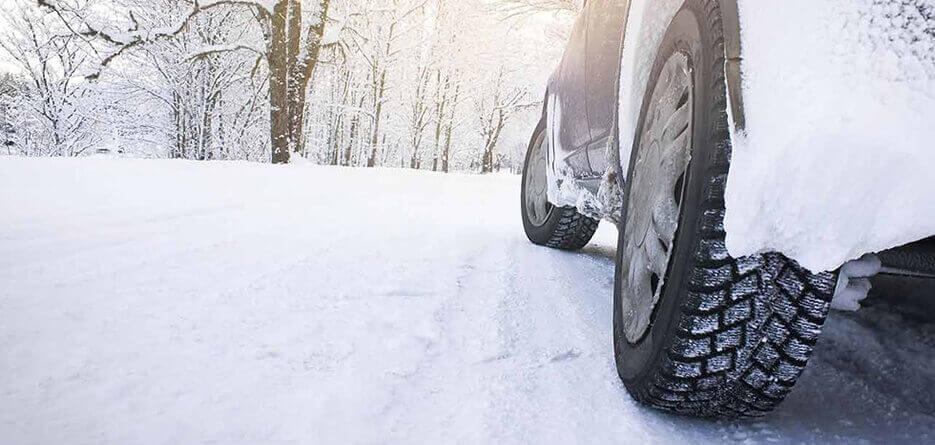 Hiring A car in Holland with Winter Tyres