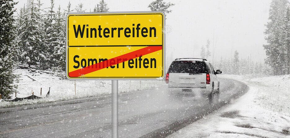 Hiring A Car In Germany With Winter Tyres