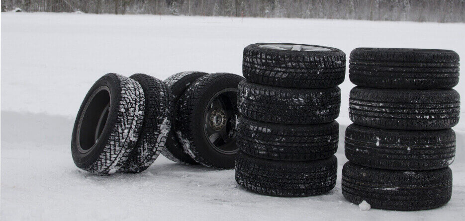 Winter tyres in Belgium