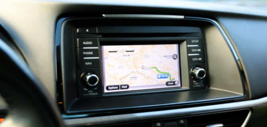 Car hire with free GPS