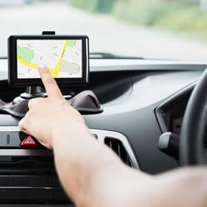 free gps in your hire car